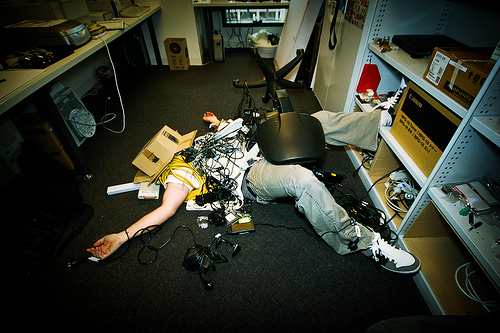 office mess photo